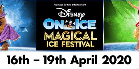 Disney on Ice Presents Magical Ice Festival Event Parking tickets