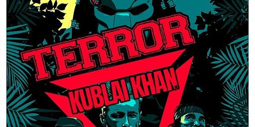 Terror, Kublai Khan,  Mindforce, Magnitude, restraining order