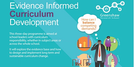 Evidence Informed Curriculum Development and Implementation tickets