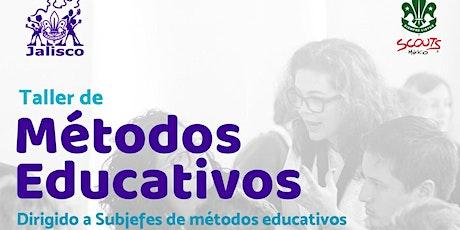 Taller de Métodos Educativos (REGISTRO) entradas