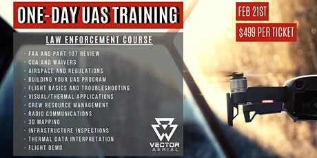 Vector Aerial One-Day Drone Training tickets