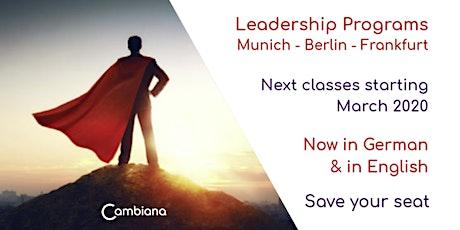 Berlin Leadership Program by Cambiana - Frühling 2020 Tickets