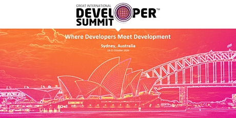 Great International Developer Summit (GIDS) Sydney tickets