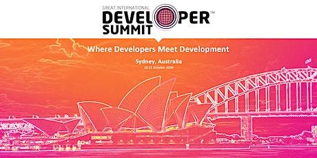 Great International Developer Summit (GIDS) Sydney tickets