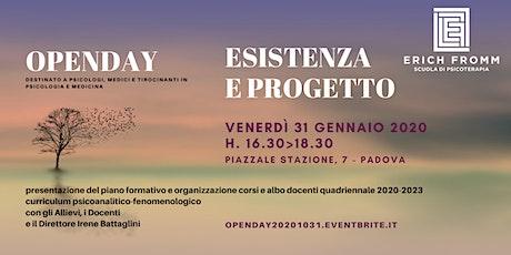 PADOVA - OPENDAY SCUOLA ERICH FROMM - ESISTENZA E PROGETTO biglietti
