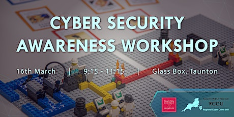 Cyber Security  Awareness Workshop  - SW Police Regional Cyber Crime Unit tickets