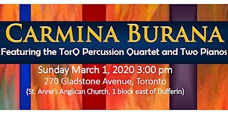 Toronto Beach Chorale - Carmina Burana tickets