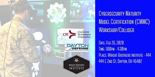 Cybersecurity Maturity Model Certification (CMMC) Workshop/Collider