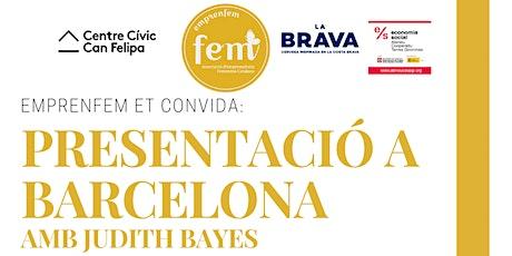 Presentació Emprenfem a Barcelona entradas