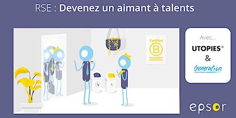 RSE : levier d'attractivité et de fidélisation des salariés billets