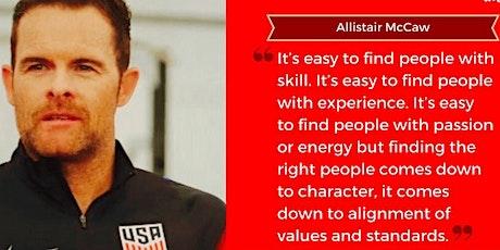 Allistair McCaw - Developing an Elite Performance Culture tickets