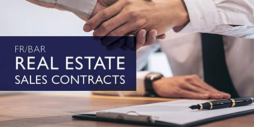 FR/BAR Real Estate Sales Contracts