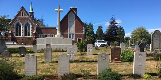 Efford Cemetery War Graves Walking Tour
