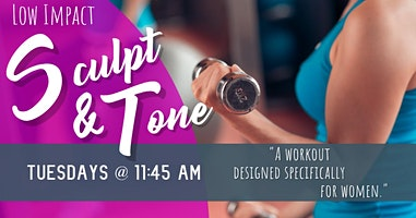 11:45am Group 2 Sculpt and Tone