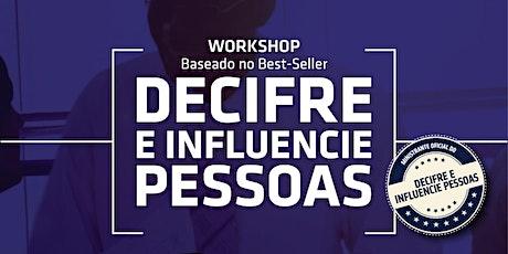 Workshop Decifre e Influencie Pessoas ingressos