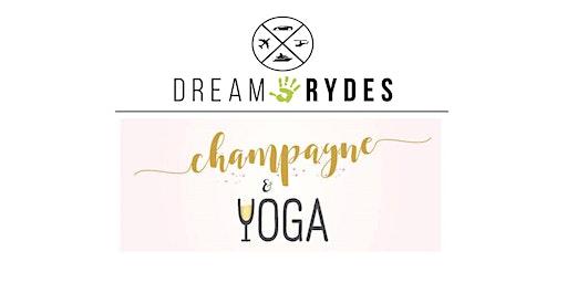 Champagne & Yoga Fundraiser for Dream Rydes