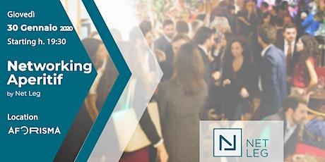 NetLeg Networking Aperitif @Aforisma biglietti