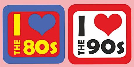 I love the 80s vs 90s tickets