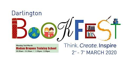 Darlington Bookfest 2020 | Madam Dragons Training School (10.30am -11.30am)