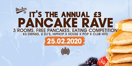 Milkshake, Ministry of Sound Pancake Day Party tickets
