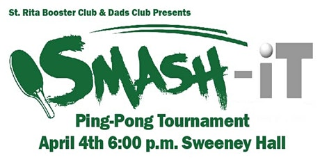 St. Rita Booster Club & Dads Club Ping Pong Tournament tickets