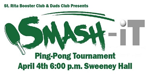 St. Rita Booster Club & Dads Club Ping Pong Tournament