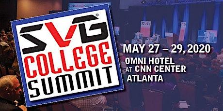 2020 SVG College Summit tickets
