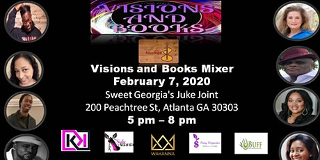 Visions and Books Mixer tickets