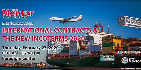 International Contracts & The New Incoterms 2020 tickets