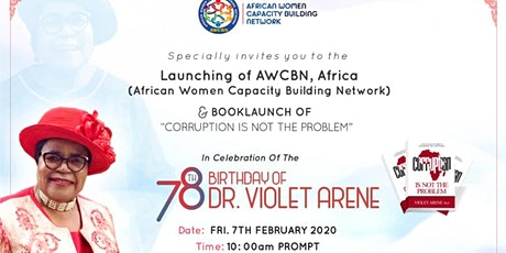 LAUNCH OF AFRICAN WOMEN CAPACITY BUILDING NETWORK (AWCBN) tickets