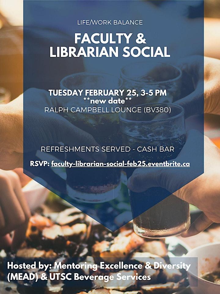 Faculty & Librarian Social image