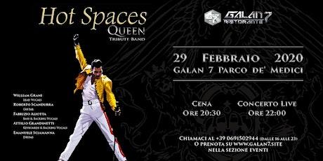 Hot Spaces Queen Tribute Band biglietti