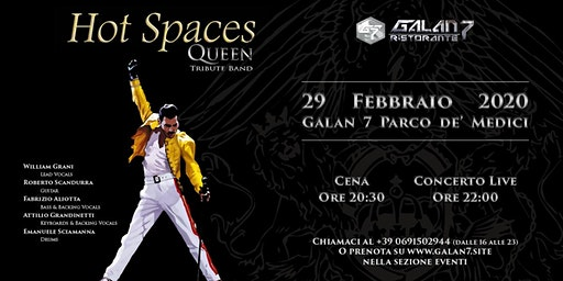 Hot Spaces Queen Tribute Band