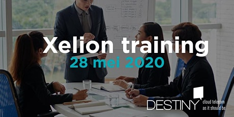 Xelion training 28 mei 2020 tickets