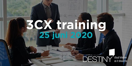 3CX Beginner training 25 juni 2020 tickets
