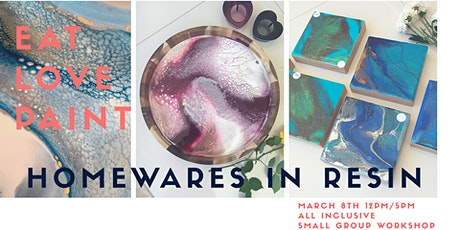 Homewares In Resin tickets