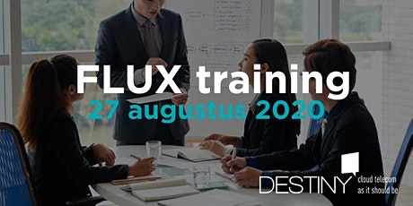 FLUX training 27 augustus 2020 tickets