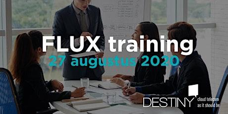 FLUX training 27 augustus 2020 tickets