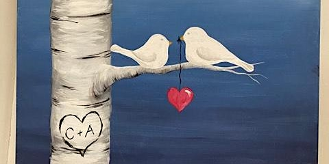 Love Birds Canvas Painting Workshop