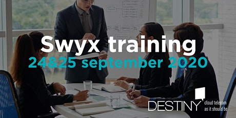 Swyx training 24 & 25 september tickets