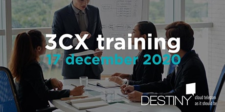3CX Intermediate-Advanced training 17 december 2020 tickets