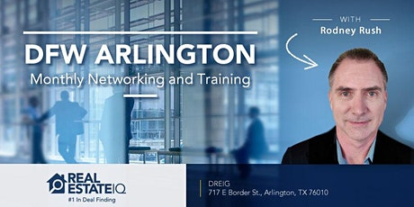 [ONLINE EVENT] DFW - Arlington Monthly Real Estate Networking and Deal Finding Training tickets
