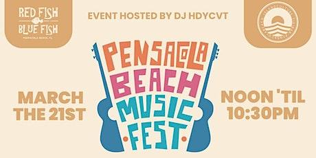 Pensacola Beach Spring Music Fest VIP Tickets tickets