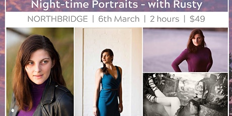 Night-time Portrait Photography - Northbridge tickets