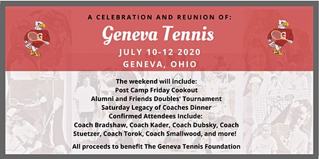 A Celebration and Reunion of Geneva Tennis tickets