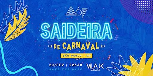 Saideira de Carnaval
