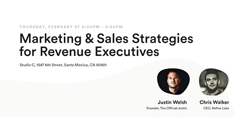 Scale to $50MM | Marketing & Sales Strategies for Revenue Executives tickets