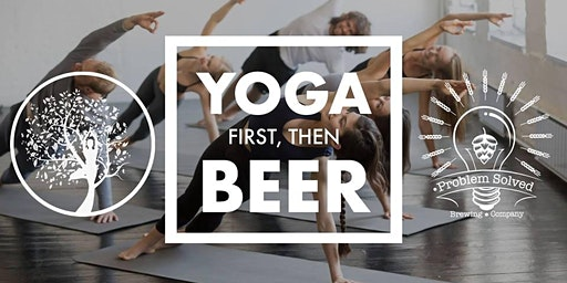 Brewery Yoga at Problem Solved Brewing Co.