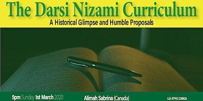 The Darsi Nizami Curriculum