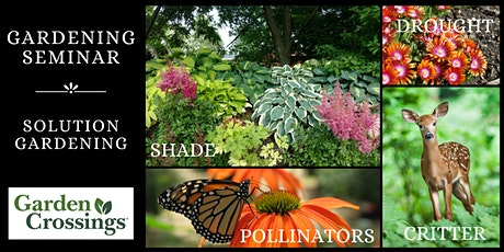 Gardening Seminar - Solution Gardening tickets